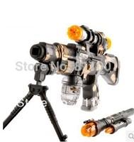 Hot sale!!Developed electric toy guns acoustooptical submachine gun toy gun boy toy sniper rifle Hotchkiss   toys for children