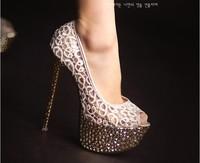 2013  Ladies Sexy High Heel Platform Shoes OL High Heel Shoes Drop Shipping (Size 34-38)D79872 D79871