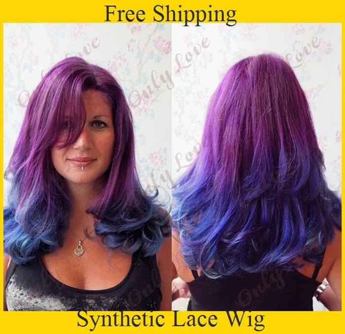 African American Hair Color Purple