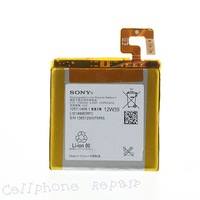 hk freen shipping 1pc/tvc-mall 1780mAh LIS1499ERPC Li-ion Battery for Sony Xperia T LT30p LT30i Mint (OEM, Not Brand New)