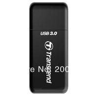 2014 New Brand Transcend 2 in 1 High Speed USB 3.0 Card Reader SDHC/ SDXC/ microSDHC/ microSDXC /UHS-I Reader RDF5 Free shipping