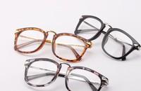 Free shipping(2pcs/lot)209 For men&women half plastic&half metal frame glasses/goggles