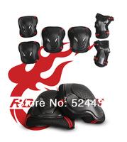 Skating shoes flanchard roller armfuls skatse kneepad skates six pieces set protective gear set