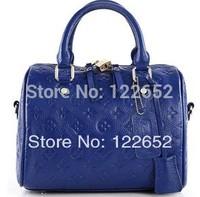 2014 new fashional brand head layer cowhide bags shoulder bag ladies genuine leather handbag free shipping B-14