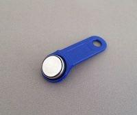 100pcs/lot BLUE iButton Dallas Key with Handle - EPOS Key Non Magnetic