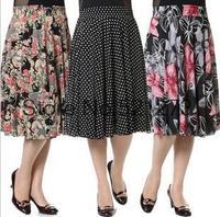 NEW 2015 Golden high quality liangsi elegant  skirt  puff bust skirt women's lady girl free ship