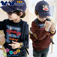 2014 spring children's clothing male baby child fleece long-sleeve wadded jacket child outerwear sweatshirt fleece 3788