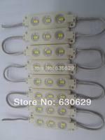 20pcs injection module led SMD5730 3LEDs/ piece Waterproof IP65 DC12V white free shipping