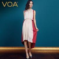 2014 new/ silk jacquard one-piece dress/ bohemia dress /2014 spring and summer mulberry silk beach full dress