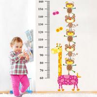 The third generation wall stickers child cartoon height fun