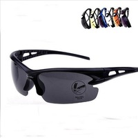 Free Shipping 2013 Russian Men's Polarized Sunglasses alloy Cycling Driving Sunglasses Sport Men Retail y001