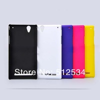 10pcs/lot free shipping New Rubber Matte plastic hard cover Case For Sony Xperia Z2