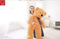 1.6M Large stuffed animal plush teddy bear birthday gift 160cm plush bear doll  toys for children christmas gift toys for girls