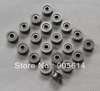 23 pcs U624ZZ U Groove Sealed Ball Bearings Vgroove 4 x 13 x 7mm 1.7mm deep NEW