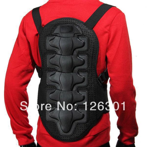 Black Spine Armor Motorcycle Bike Rock Climbing Ski Racing Back Protective Gear(China (Mainland))