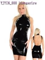 Faux leather uniform ds twirled clothing 703