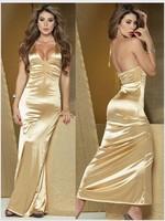 Women's sexy underwear halter-neck full dress formal dress full dress 615