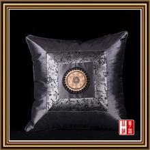 100% silk Factory Wholesale Free Shipping Square Pillowcase  Pillow Cover Cushion Case Satin  Bed Sofa car Decor  CS10-3(China (Mainland))