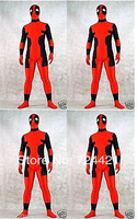 Attractive!!!! New fancy dress party lycra spandex zentai costume deadpool S-XXL