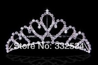 Free Shipping Bridal Tiaras Sweetheart Crystals Women Accessories Bridal Jewelry 72a10