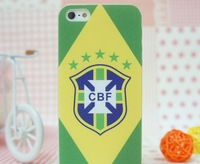 2014 Brasil Soccer World Cup Phone Protective Sleeve Football Team Phone Shell Mobile Phone Case 200Pcs / Lot Free Shipping