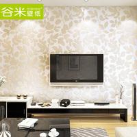 Sago wallpaper non-woven wallpaper modern brief non-woven wallpaper ga468