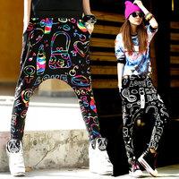 new 2014 Sumer Harem pants women joggers baggy Drop crotch pants women Dance Casual Spring hip hop pants women casual dance wear