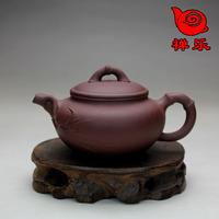 Yixing teapot ore purple handmade teapot small antique 120cc
