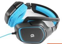 Original Noise isolating Gaming Headset Logitech G430 7.1 Surround Sound Hi-Fi Mic Dota 2 Earphones Headphones PC Computer