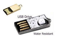 Mini USB flash drives Water resistant U disk gifts usb flash drive 4GB 8GB 16GB 32GB 64GB USB 2.0 Flash Memory Stick pen drive