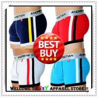 DHL Shipping Factory Wholesale AC Brand Modal Sexy Fashion Mens Underwear Boxer Short Trunks For Man
