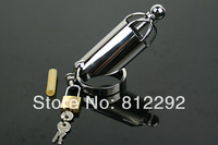 High Quality Metal Single Ring Male Chastity Device cage Adult Novelty Urethral Catheter Cage Fast shipping