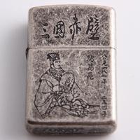 Usb lighter thickening copper shell cigarette lighter male gift