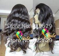 Free Shipping Natural Wave Glueless Lace Front Wigs Brazilian Hair  ShortNatural Kanekalon Fiber Hair Cosplay Wig