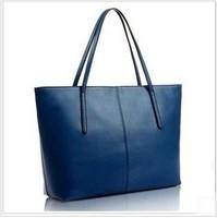 new 2014  fashion women leather handbags women handbag women messenger bags portable oblique satchel bag free shipping
