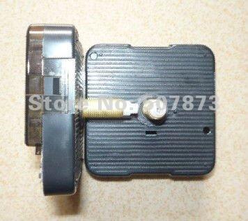 100set Wholesale High quality Quartz Clock Scanning Movement Kit Spindle Mechanism shaft 28mm Long axis clock mechanism BJ030-1(China (Mainland))