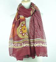 Free shipping,2014 new Spring scarf,paisley design,ladies printed shawl,muslim hijab,big size shawl,women's accessories