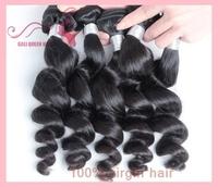 100% Human Virgin Hair Peruvian Virgin Loose Wave Hair 5A Grade Top Quality GALI Queen Hair 3pcs/Lot DHL free shipping