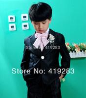 New 2014 male child suit formal dress set child suit male child formal dress children's clothing 6 piece set xz . 07