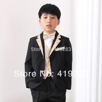 free shipping factory directly selling boys tuxedo suit for wedding child blazer clothing