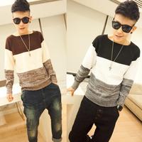 Freeshipping 2014 outerwear sweater autumn men's clothing sweater male sweater o-neck sweater