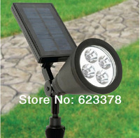 Free Shipping 1pcs Power Saving Energy Solar Lamp Outdoor Solar LED Lamp CPD7