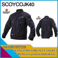 Freeshipping jackets,2014 scoyco,motorcycle jacket ,jk40,XXL,reflective material,good air premeability
