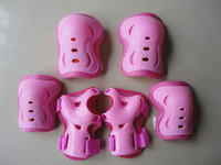 6 Pieces/Set High Quality Baby Child Skating Skateboard Skate Bicycle Protective Kneelet Elbow Pad Hand Handguard Protector
