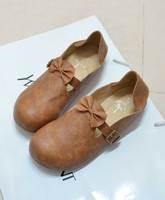 Ulzzang2014 spring HARAJUKU bow soft flat bottom single shoes