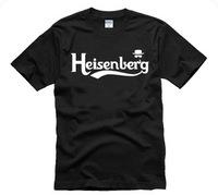 breaking bad short-sleeve T-shirt heisenberg lovers design stylish Sitcoms plus size