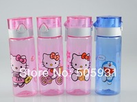 New 2014 Water BottleHello Kitty Bottle, Doramon Bottle,  550ML
