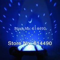 New Amazing Turtle Night Light Stars Constellation Lamp Kid Baby Sleep Toy