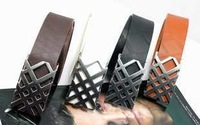 2014 new fashion trends British personality choice for leisure complex multicolor belt Men Women b038