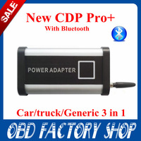 TCS scanner cdp pro support the car& truck With Bluetooth +LED cable+LED newest  version 2013 .3 without OKL